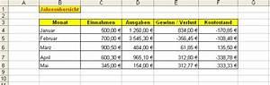 Excel Feiertage Berechnen : diagramm in excel erstellen und bearbeiten office ~ Themetempest.com Abrechnung