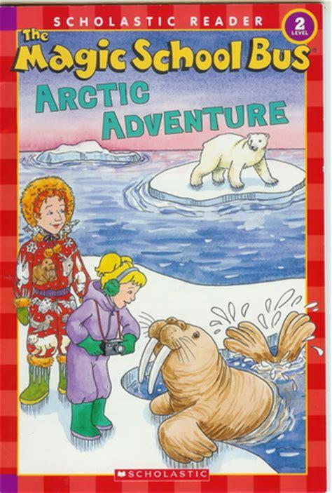 arctic adventure magic school bus leveled reader level