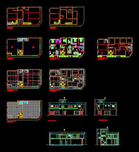 Appartamento Dwg by Apartamento En Autocad Descargar Cad Gratis 4 12 Mb