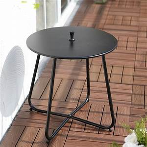 Table Basse Balcon : simple modern iron leisure coffee table small round table corner outdoor balcony tea table in ~ Teatrodelosmanantiales.com Idées de Décoration