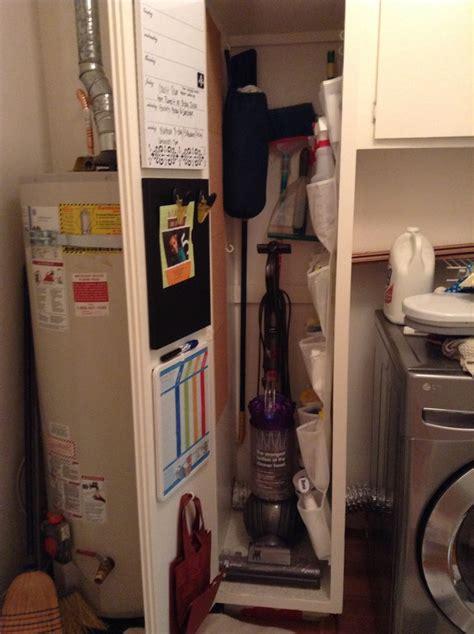 Small Broom Closet Organization Ideas by 29 Best Broom Closet Images On Laundry Room