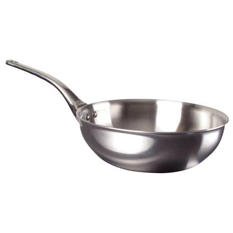 cuisine en chef sauteuse inox affinity évasée ø 24