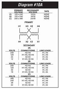 Install Square D Transformer Diagrams