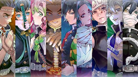 demon slayer kimetsu  yaiba pillars dowload anime