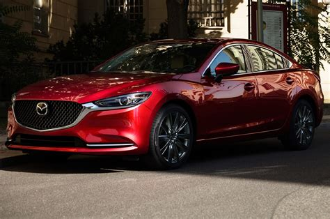 2018 mazda6 mazda s midsizer gets a refresh and a new engine motor trend