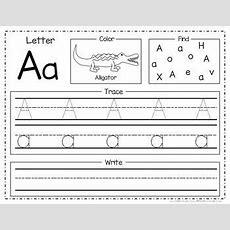 New* Alphabet Worksheet Packet  Alphabet Worksheets, Worksheets And Letter Tracing