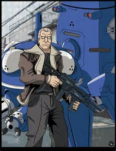 Batou Ghost in the Shell Movie