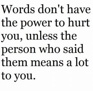 Harsh Words Can Hurt Quotes. QuotesGram
