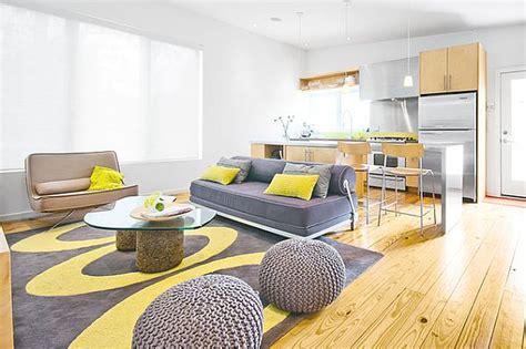 yellow and grey design grey mustard living room modern house