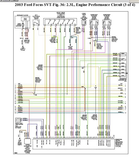 2003 Focu Wiring Schematic by Help Locate A Connector I Did An Engine On A 2003