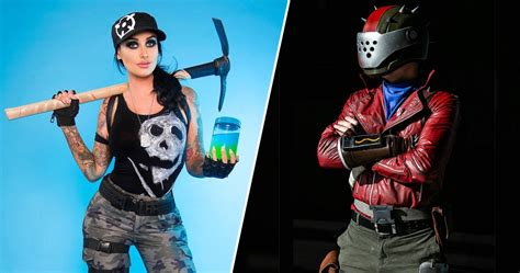 awesome fortnite cosplay      game