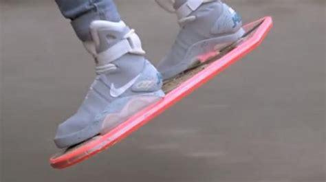 Skateboard Volante Quot Hoverboard Quot Le Skate Volant De Quot Retour Vers Le Futur