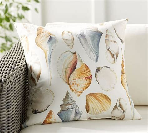pottery barn outdoor pillows all shell indoor outdoor pillow pottery barn