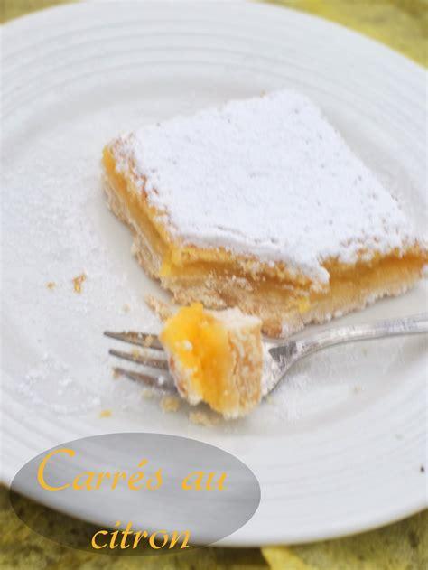 carr 233 s au citron amour de cuisine