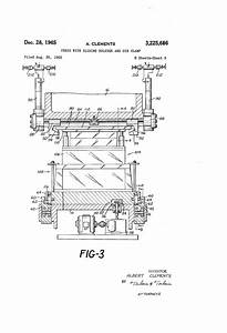 Patent Us3225686 - Press With Sliding Bolster And Die Clamp