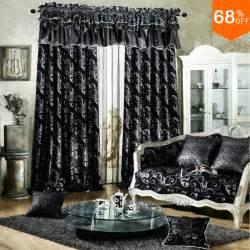 rideaux noir et argent noir taffetas rideaux achetez des lots 224 petit prix noir