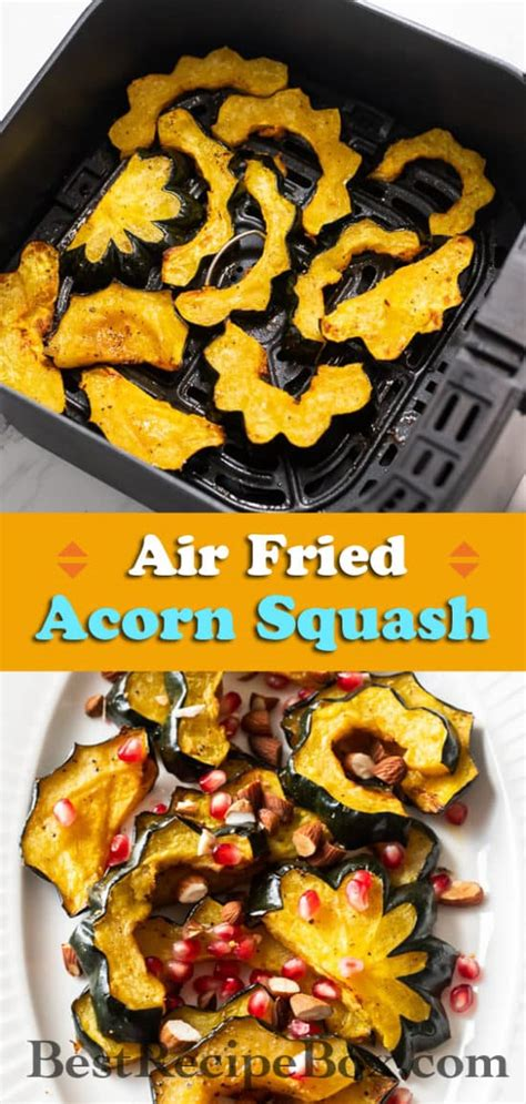 air squash acorn fried recipe fryer bestrecipebox