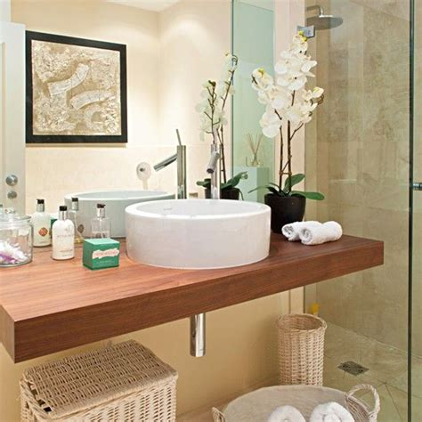 decorating a bathroom ideas 20 bathrooms with wooden countertops basin unit