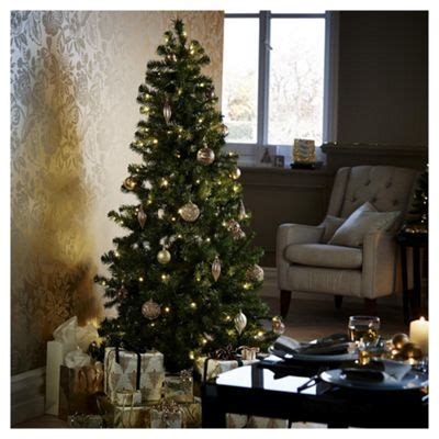 6ft arbour ultima christmas tree buy 6ft pre lit evergreen tree 150 warm white leds from our trees range