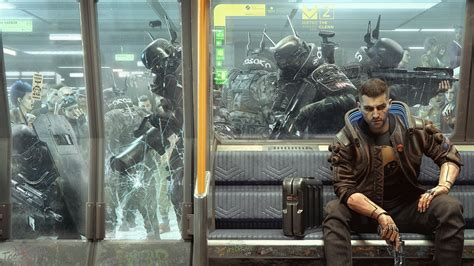 cyberpunk  wallpaper teases  arasaka police service