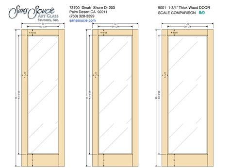 door frame specs french 5001 1 3 4 quot thick door 8 0 sans soucie art glass