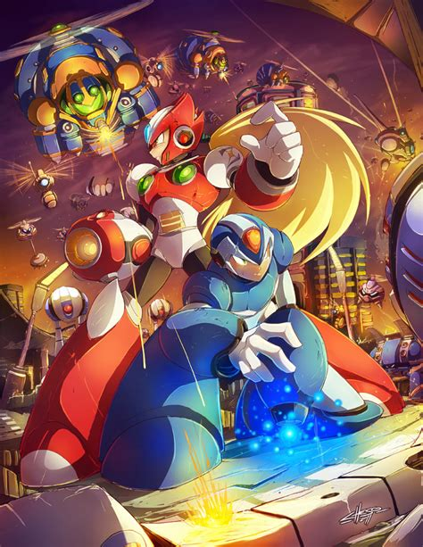 Megaman Xs First Stage Tribute By Jesonite For Udons