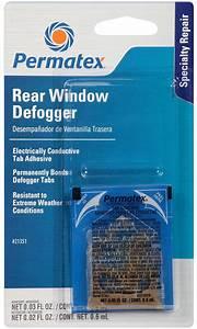 Permatex U00ae Electrically Conductive Rear Window Defogger Tab