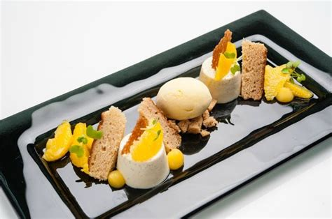 moderna cuisine orange panna cotta picture of white modern cuisine