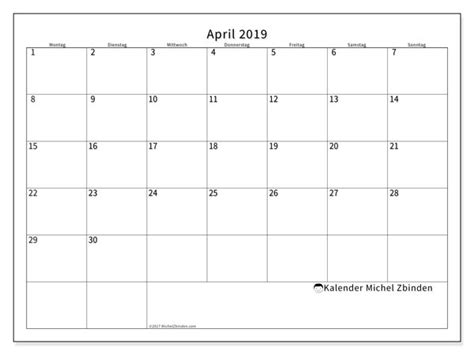 kalender april ms michel zbinden de