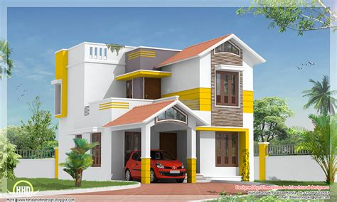 Home Design 1500 Sq Ft : Beautiful 1500 Square Feet Villa Design