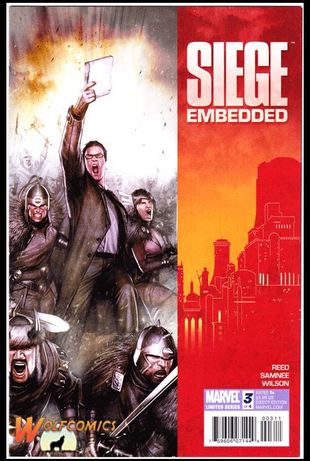 siege embedded siege embedded 3 cover a 2010 series 1st print