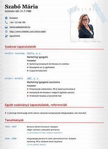 Create A Free Resume Online Minta önéletrajz 2018 Minták Marketing életrajz