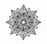 Geometric Coloring Pages Mandala Printable Shapes Drawing Pattern Designs Tattoo Mandalas Patterns Shape Using Star Sketch Incredible Colouring Sheets Lines sketch template