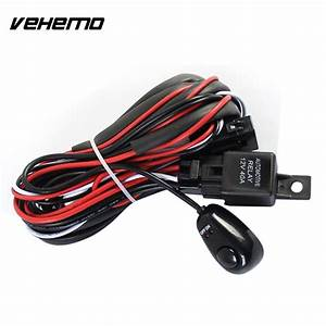 12v 40a Universal Professional Wiring Harness Kit Led Work