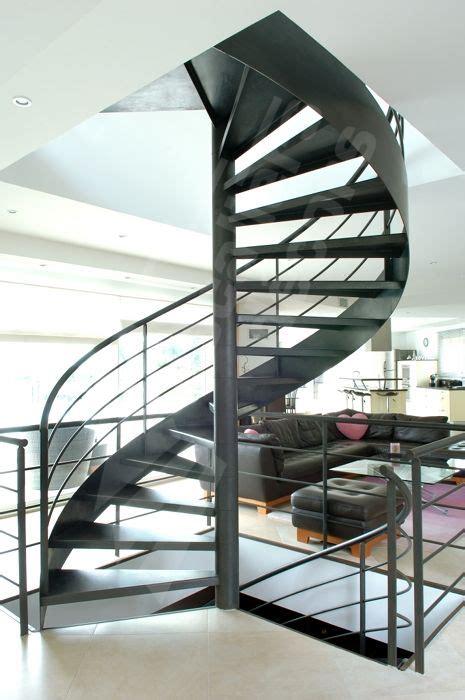 escalier métallique extérieur acier brut patin 233 petit bureau acier brut patin secr taire design style loft industriel