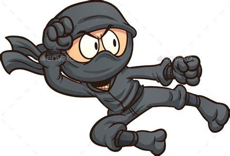 Ninja Flying Kick By Memoangeles