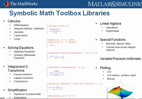 Matlab Symbolic Math Solve System Of Equations