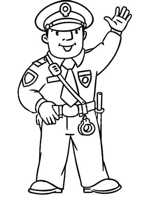 polizei  ausmalbilder malvorlagen