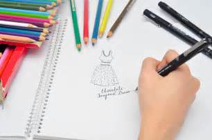 designer notebook how to make a fashion design notebook 13 steps with pictures