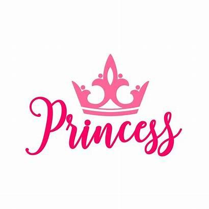 Crown Princess Silhouette Svg Vector Clip Clipart