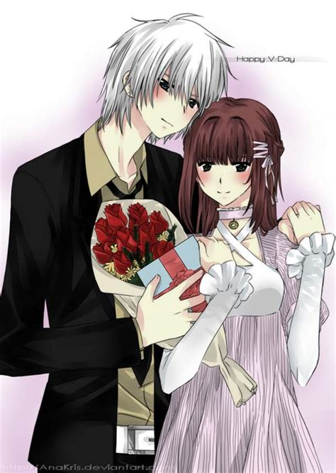 anime couples valentine s day beautiful valentine s day anime artworks