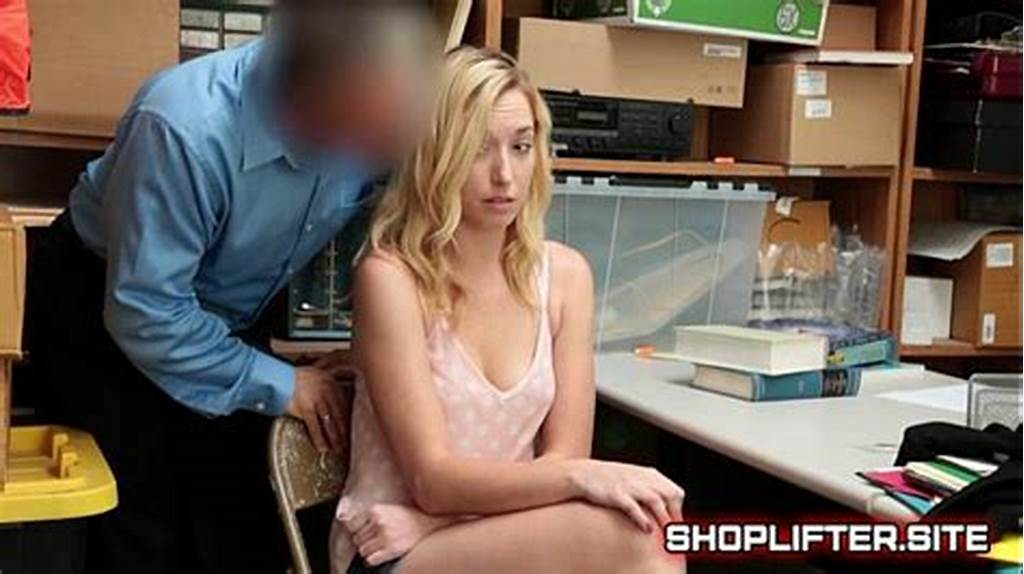#Shoplifting #Teenager #Zoe #Parker #Gets #Fucked