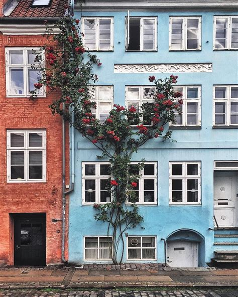 Colourful House by The Colourful Houses Of Copenhagen And Where To Find