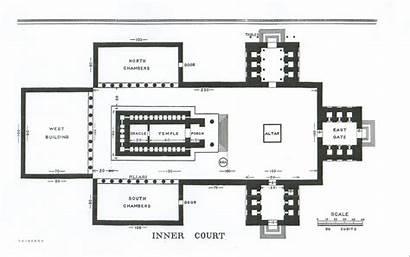 Temple King Solomons Plan Solomon Floor Court