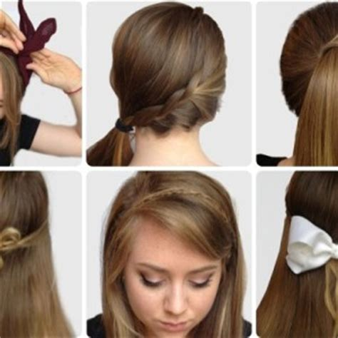 fashionable  easy updos  long hair ohh