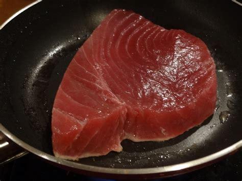 comment cuisiner steak thon comment cuire thon