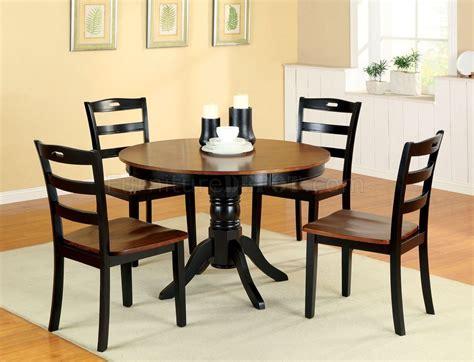 cmrt johnstown pc dining set  antique style oak black