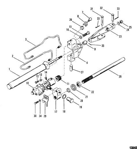 mercruiser alpha  gen ii   power steering