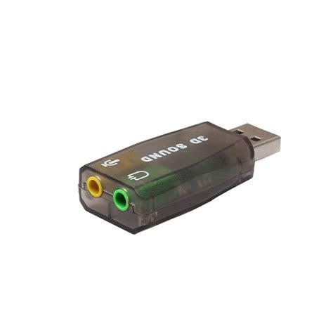 Usb Sound Card 5 1 3d Sound 5 1 5 1 usb to 3 5mm mic headphone stereo headset 3d