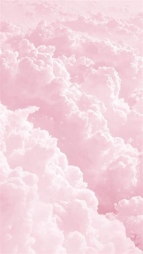 koleksi background awan pink  keren